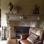 Brezeale Fireplace Main house Pinterest