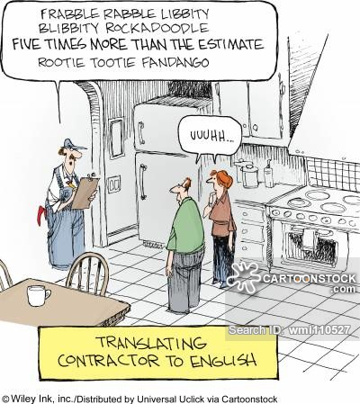 Translating Contractor to English