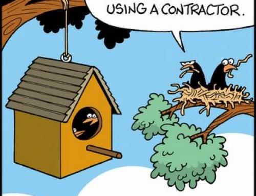 Let's talk about contractors.